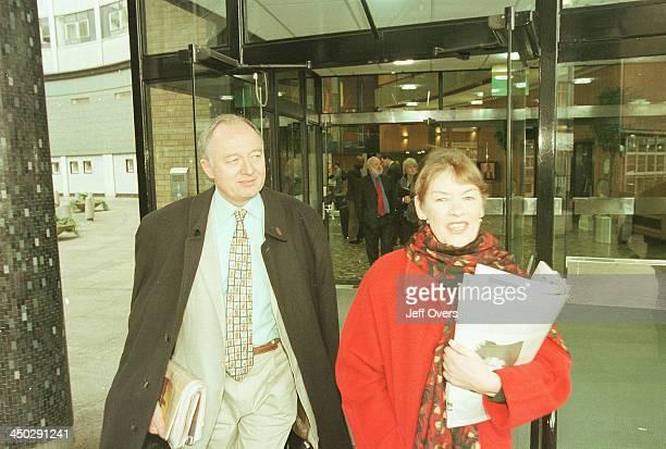 Labour candidates for Mayor of London Glenda Jackson Ken Livingstone and Frank Dobson