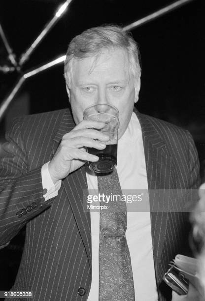 Labour Deputy Leader Roy Hattersley at the Dome Nightclub 20th March 1990