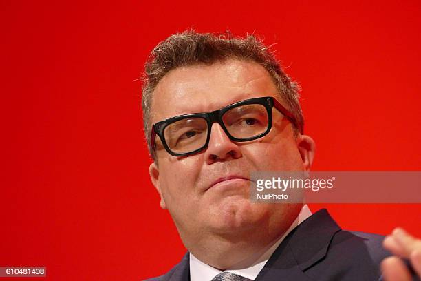Labour Deputy Leader Tom Watson pays tribute to Jo Cox the British Labour Member of Parliament for Batley and and Spen died after being shot multiple...