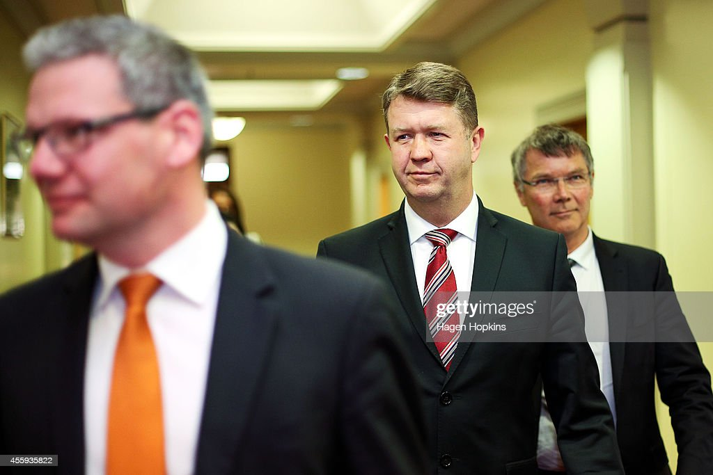 Labour Leader David Cunliffe Holds Pre-Caucus Press Conference
