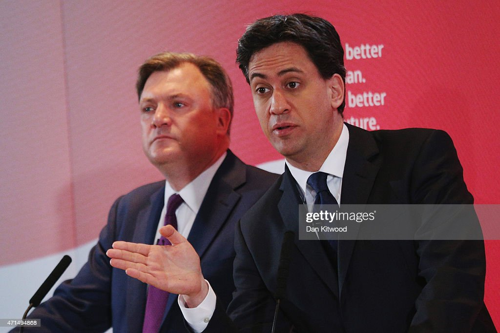 Labour Tell Of Tory Threat To Family Finances : News Photo