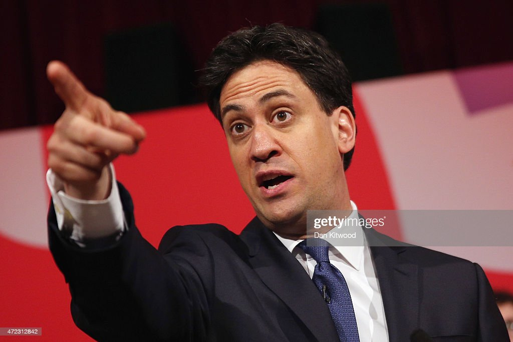 Ed Miliband Completes His Election Campaign In The North Of England : News Photo