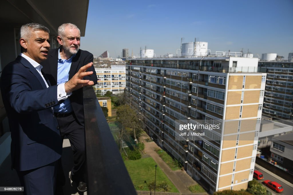 Jeremy Corbyn Launches Labour Social Housing Policy