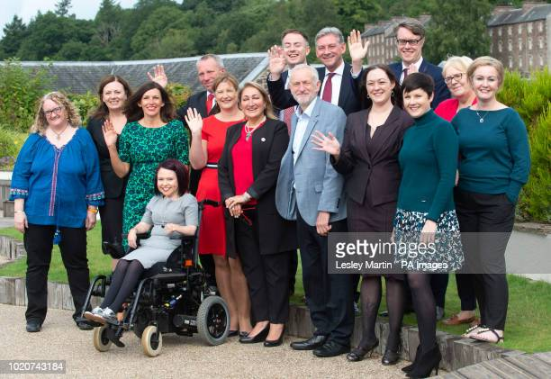 Labour leader Jeremy Corbyn and Scottish Labour leader Richard Leonard meet the party's early selected candidates for Westminster target seats at the...