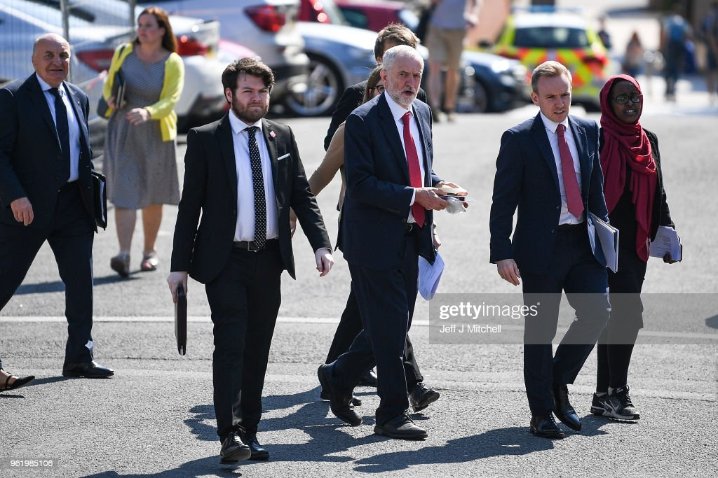 Labour Leader Jeremy Corbyn Visits Northern Ireland