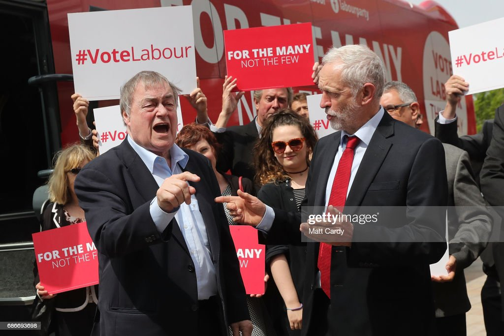 Jeremy Corbyn Continues Campaigning For The Labour Party In Yorkshire