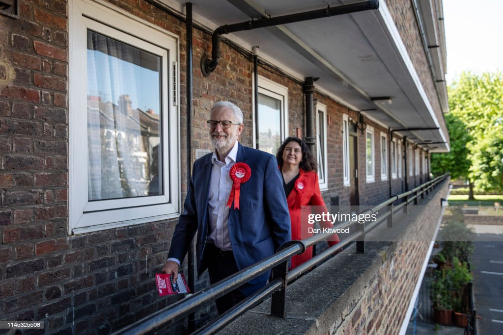 GBR: Jeremy Corbyn Campaigns For EU Elections In South London