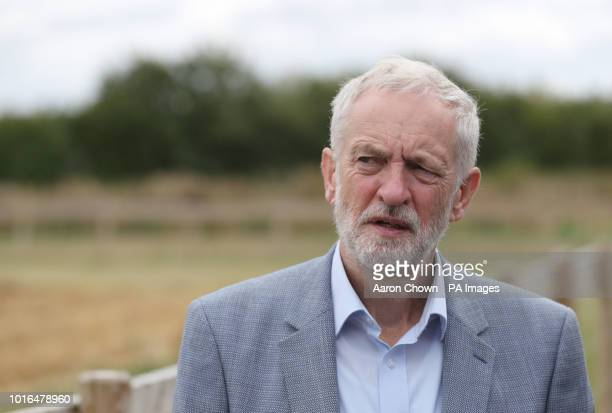Labour leader Jeremy Corbyn during his visit to Harper Adams University Newport Corbyn came under attack from Israeli Prime Minister Benjamin...