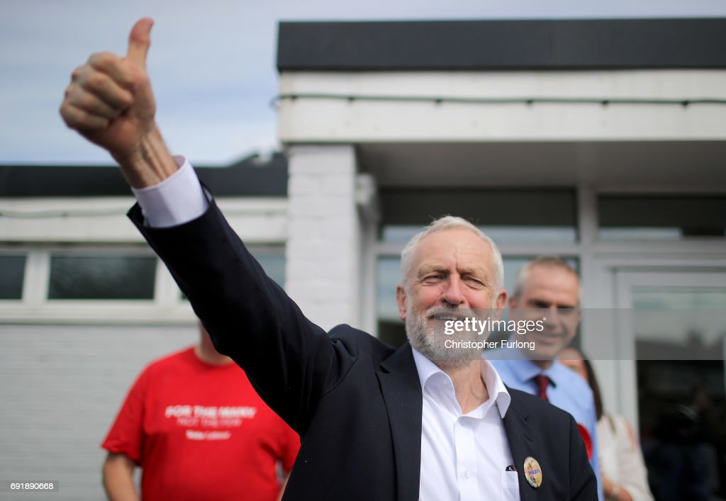 Jeremy Corbyn Visits The East Midlands On The Final Weekend Of The Election Campaign