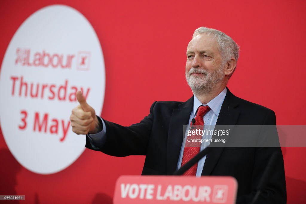 Jeremy Corbyn Launches Labour's Local Government Election Campaign
