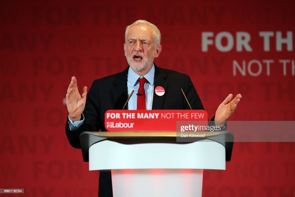 Jeremy Corbyn Launches Labour's Race And Faith Manifesto : News Photo