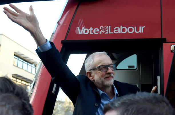 GBR: Corbyn Holds Rally In Bristol In Final Push Before Election