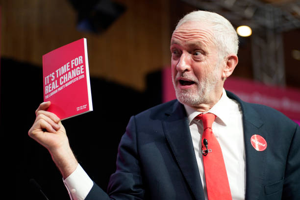GBR: The Labour Party Launch Their Election Manifesto