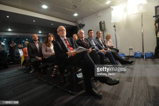 Labour leader Jeremy Corbyn Shadow Chancellor John McDonnell Mayor of Greater Manchester Andy Burnham and Metro Mayor of the Liverpool City Region...