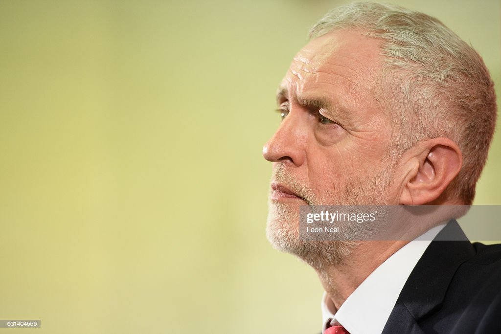 Jeremy Corbyn Outlines The Labour Party's Plans for Brexit And Britain : News Photo