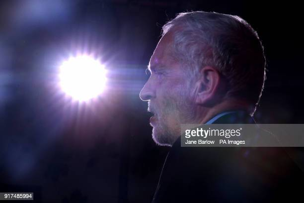 Labour leader Jeremy Corbyn speaks at a campaign rally at the Shottstown Miners Welfare Hall Penicuik Midlothian as he begins a campaign tour across...
