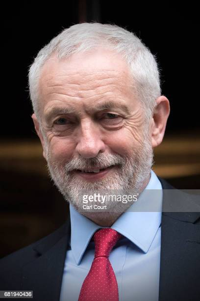 Labour Leader Jeremy Corbyn speaks to the media following the Labour Party's Clause V meeting on May 11 2017 in London United Kingdom The Labour...