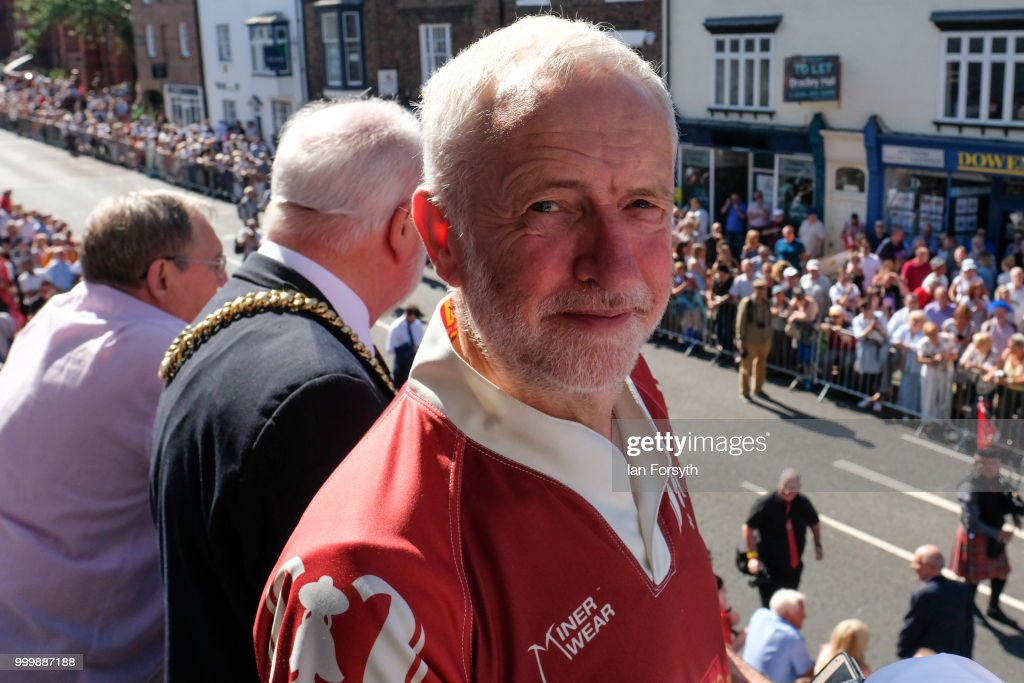 The 134th Durham Miners Gala Celebrates Socialism