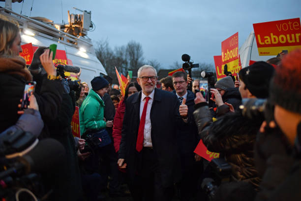 GBR: Jeremy Corbyn Campaigns in North West England