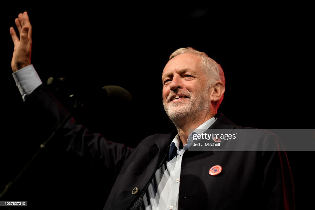 Jeremy Corbyn Holds Pre-conference Rally