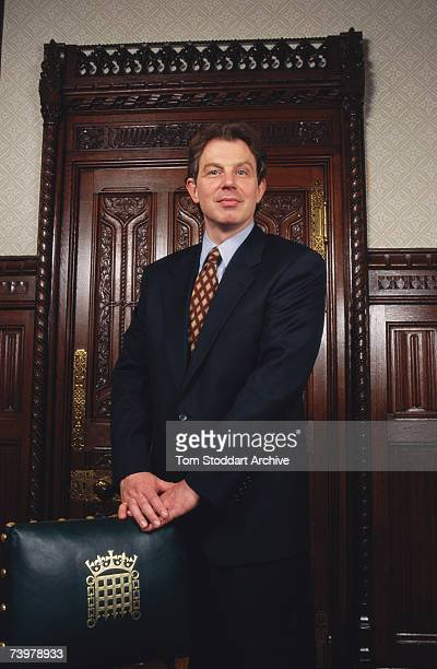 Labour Leader of the Opposition Tony Blair 1995