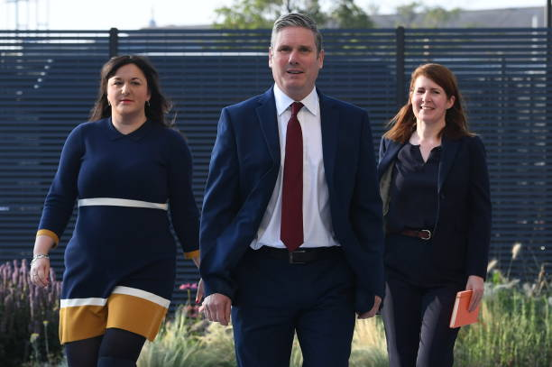 GBR: Labour Party Leader Keir Starmer Makes Virtual Conference Speech