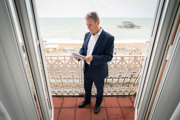 GBR: Keir Starmer Prepares His First Leader's Speech To Labour Conference