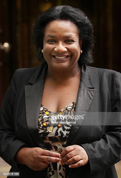 Labour leadership candidate Dianne Abbott smiles as she walks near Parliament on June 9 2010 in London England A ballot will be taken of Labour party...