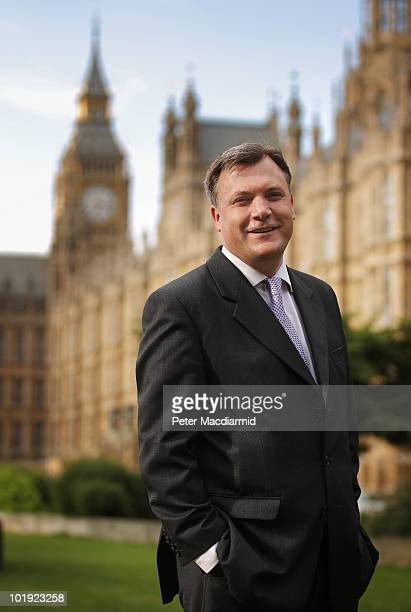Labour leadership candidate Ed Balls poses for photographers near Parliament on June 9 2010 in London England A ballot will be taken of Labour party...