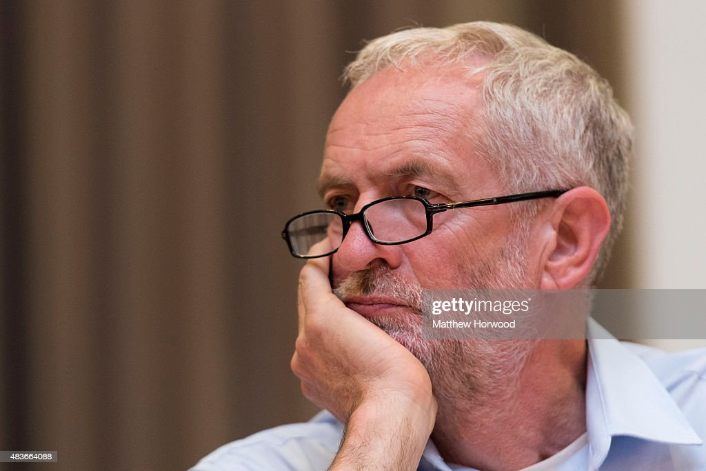 Labour Leadership Candidate Jeremy Corbyn Continues His Welsh Tour : News Photo