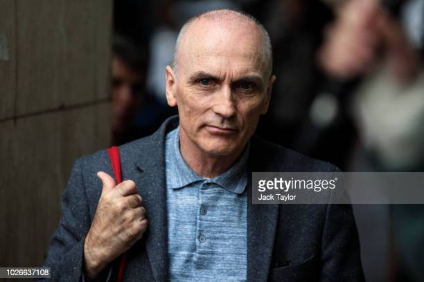 Labour MP Chris Williamson attends a demonstration outside a meeting of the National Executive of Britains Labour Party on September 4 2018 in London...