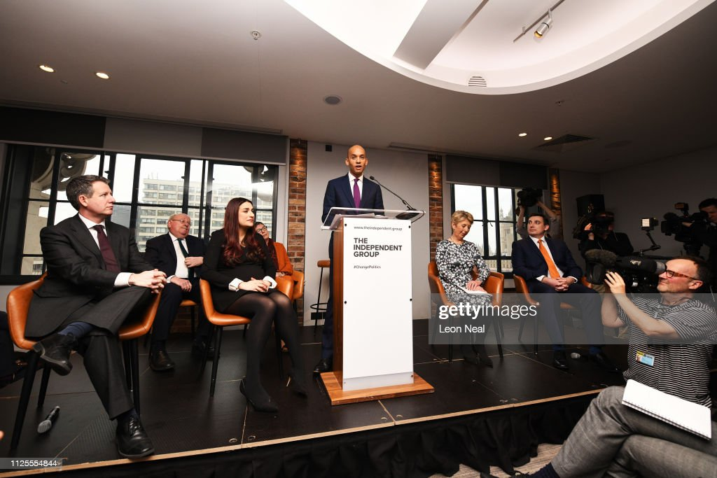 Labour MPs Hold Press Conference Amid Rumours Of A Split : News Photo