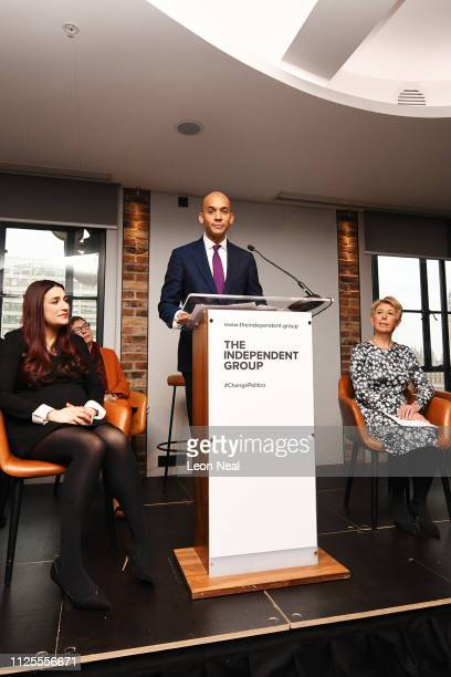Labour MP Chuka Umunna announces his resignation from the Labour Party at a press conference on February 18 2019 in London England Chuka Umunna MP...