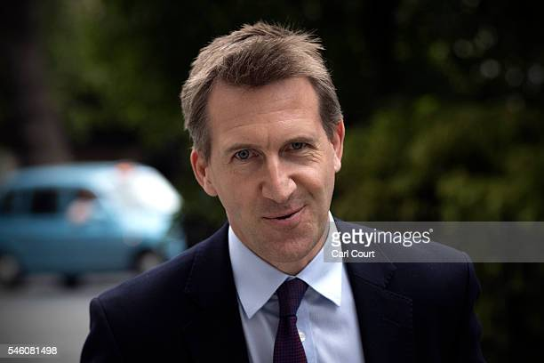 Labour MP Dan Jarvis arrives to attend a press conference held by former shadow business secretary Angela Eagle in which Eagle announced her...