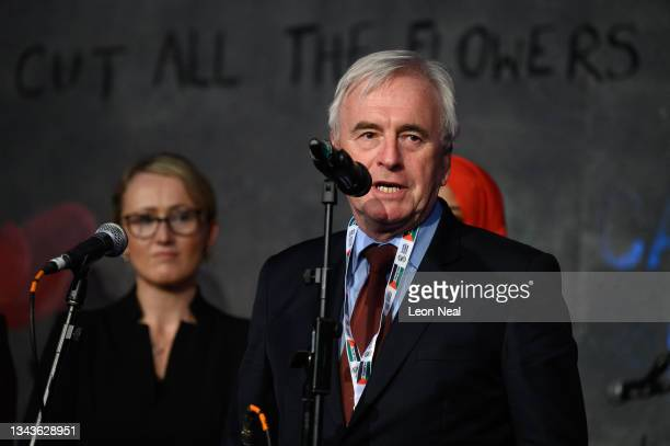 Labour MP for Hayes and Harlington John McDonnell addresses an audience at a fringe event for political festival The World Transformed, on the fourth...