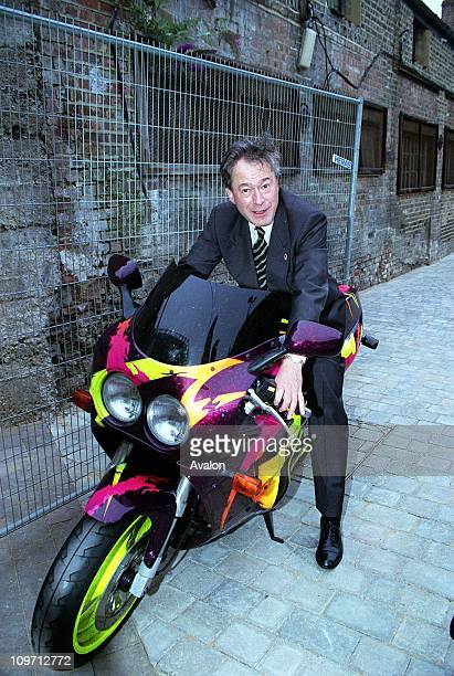 MP Labour MP for Newham North West UnderSecretary of State Department of National Heritage Minister for Sport Pictured on MOTORCYCLE at the opening...