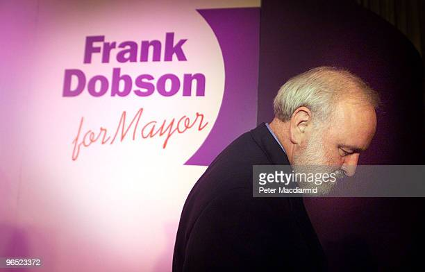 Labour MP Frank Dobson launches his bid to become Mayor of London 12th October 1999