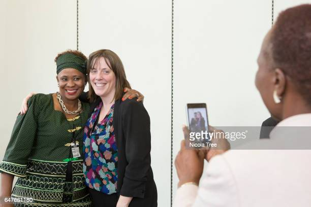 Labour MP Jess Phillips attends the Labour Party Womens political participation event at Houses of Parliament on February 1 2017 in London England