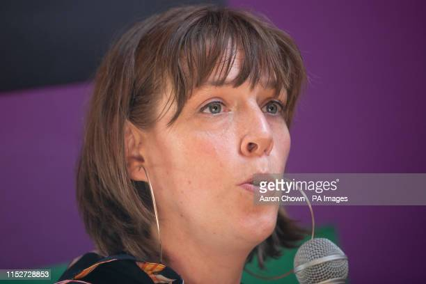 Labour MP Jess Phillips talks at Our Bodies Our Rights at Glastonbury Festival at Worthy Farm in Pilton Somerset