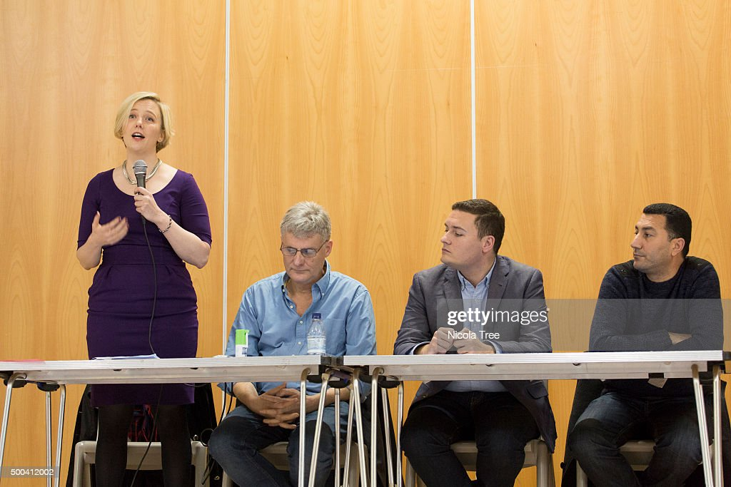 Labour MP Stella Creasy Holds Constituency Meeting On Syrian Vote