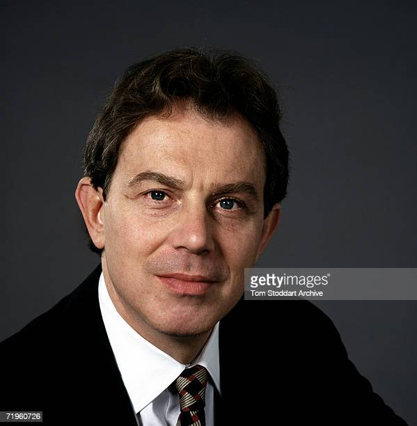 Labour MP Tony Blair during the 1997 General Election campaign trail The future Prime Minister was photographed via special access behind the scenes...