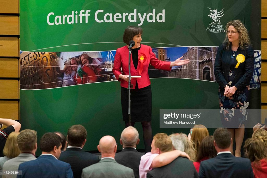 Political Parties Line Up At The Cardiff Declaration : News Photo