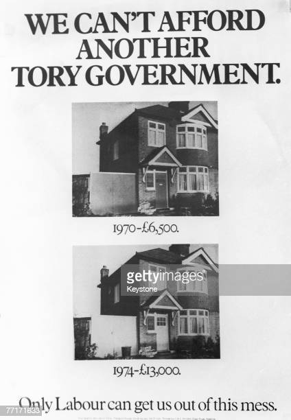 A Labour Party campaign poster used in the British general election campaign February 1974 Using the example of the rise in the price of a...