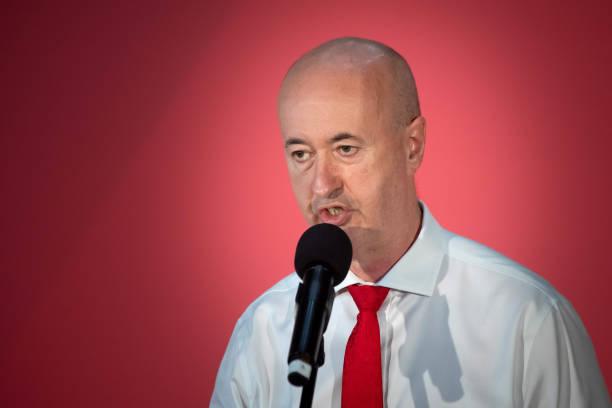 GBR: Jeremy Corbyn Campaigns In Wales