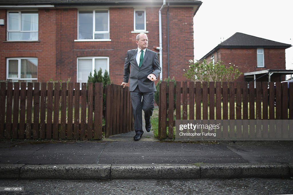 Labour Party Candidate Simon Danczuk Campaigns Ahead Of The General Election : News Photo