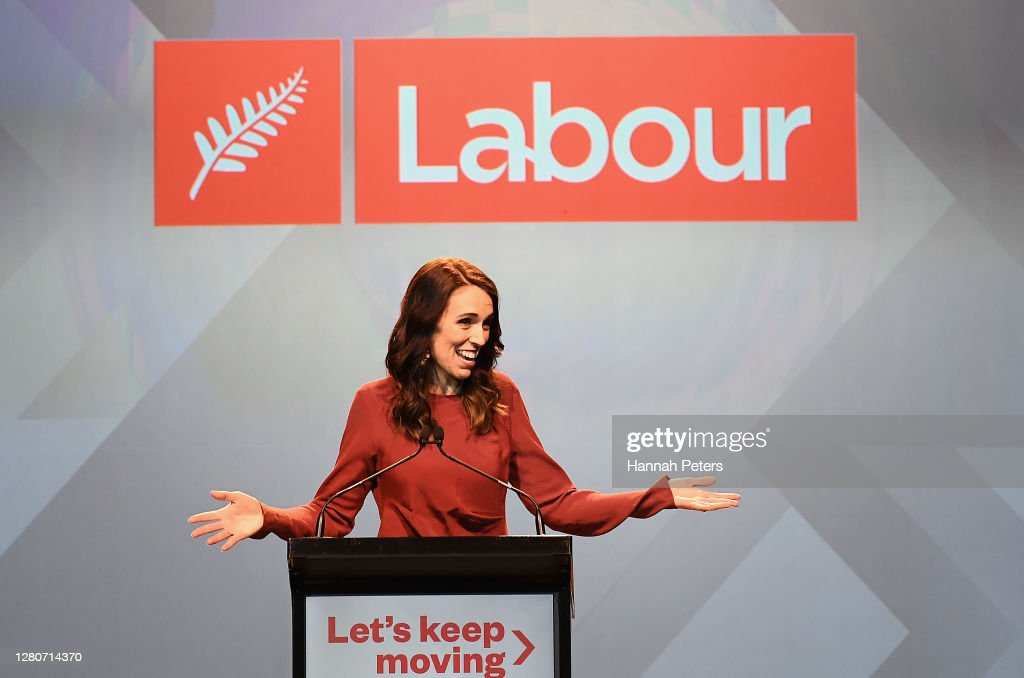 New Zealanders Head To The Polls To Vote In 2020 General Election : News Photo