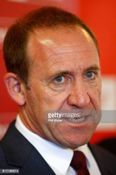 Labour Party leader Andrew Little announces the party's Families Package at the Leataata O Tupulaga O le Pasefika Preschool on July 11 2017 in...
