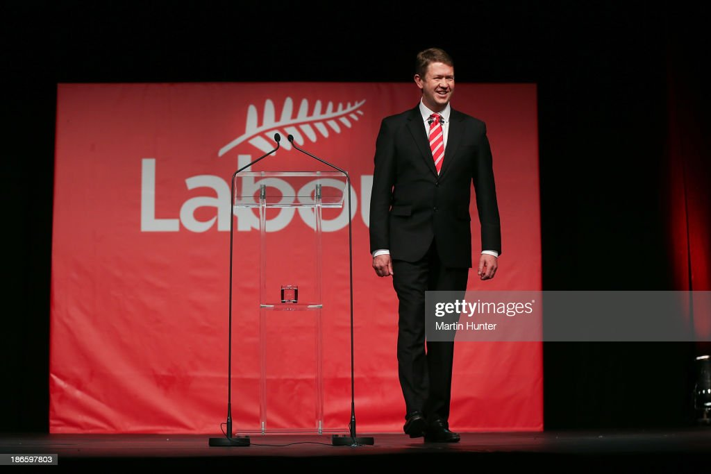 Labour Party Leader David Cunliffe during his speech to the Labour Party National Conference on November 2, 2013 in Christchurch, New Zealand. The 97th Labour Party Annual Conference runs from 1 - 3 November 2013.