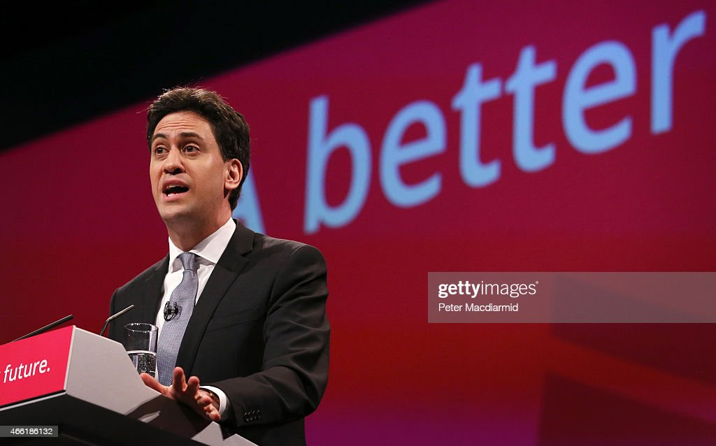 Ed Miliband And Shadow Cabinet Attend Spring Event : News Photo