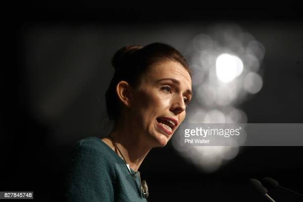 Labour Party Leader Jacinda Ardern announces the Labour Freshwater Policy at the Environmental Defence Society conference at the Grand Millennium...